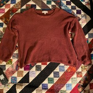 Crochet Detailed Super Soft Sweater
